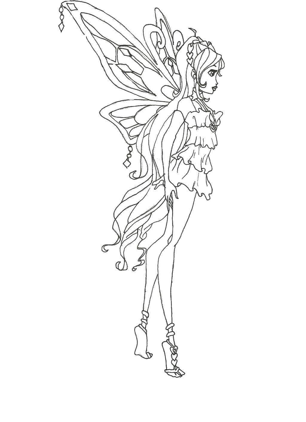 Раскраски крыльями, Страница:9.