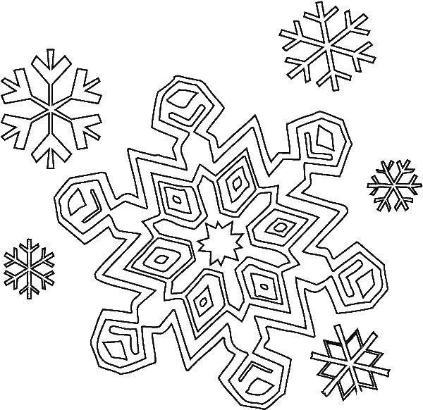 Раскраска снег Скачать ,Одежда, платье,.  Распечатать