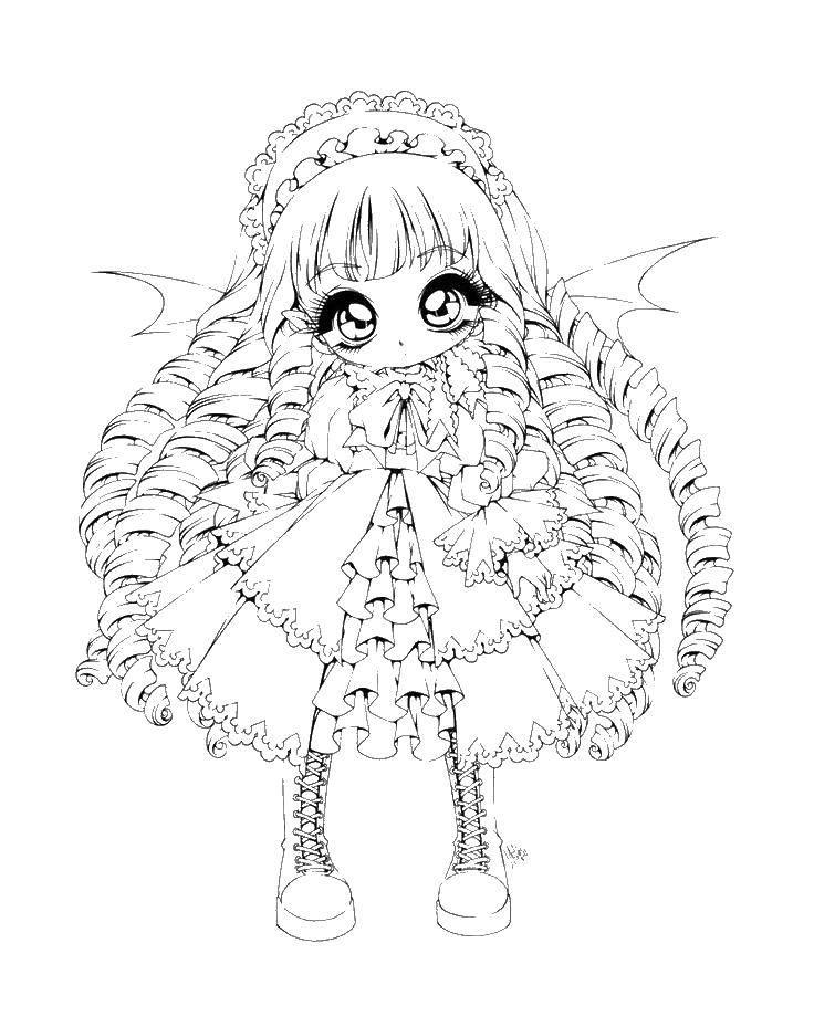 Раскраска Для девочек Скачать Персонаж из мультфильма, Время Приключений .  Распечатать ,Персонаж из мультфильма,