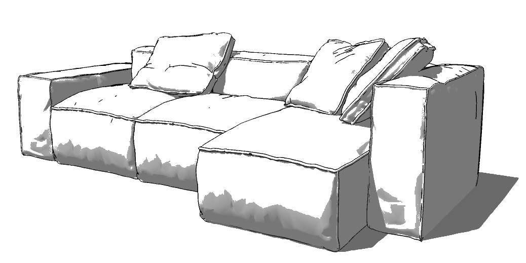 Раскраска Диван Скачать диван.  Распечатать ,мебель,