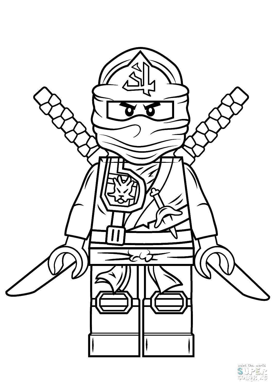Раскраска Ниндзя го. Скачать Ниндзя, конструктор, Лего.  Распечатать ,ниндзя,