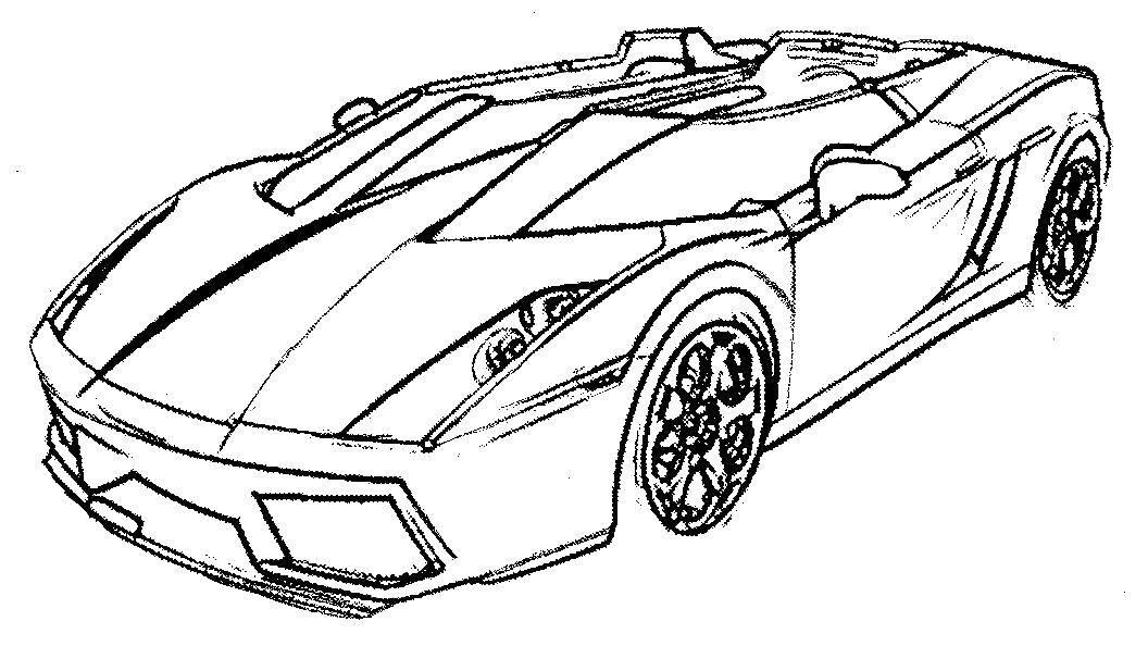 картинки раскраски для мальчиков крутые машины