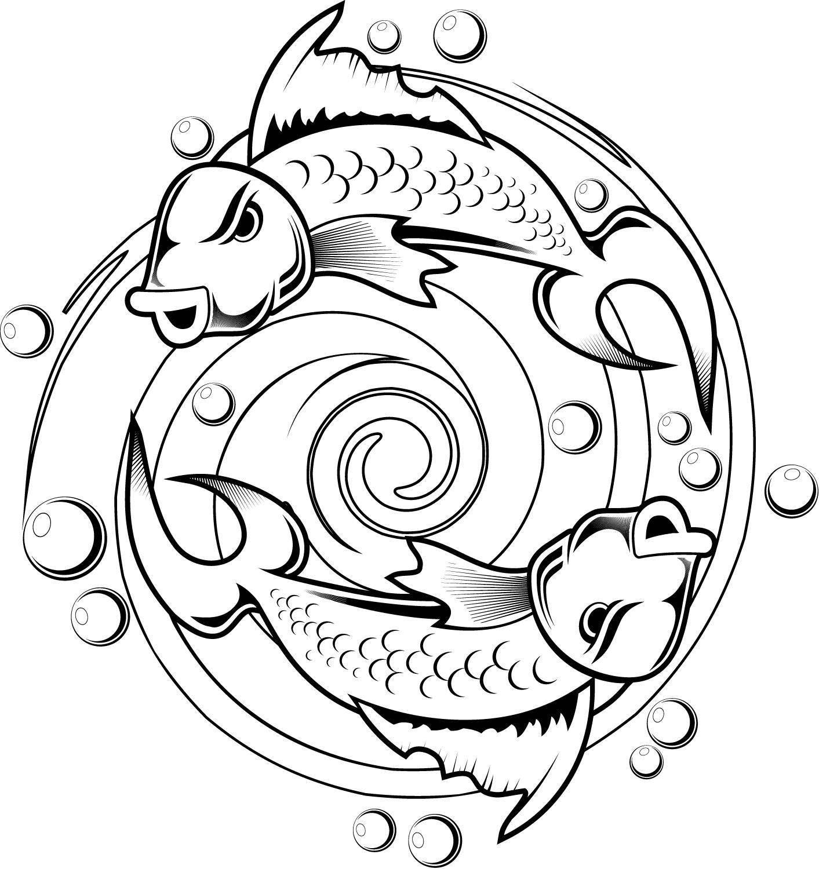раскраски рыб раскраска рыбы раскраски