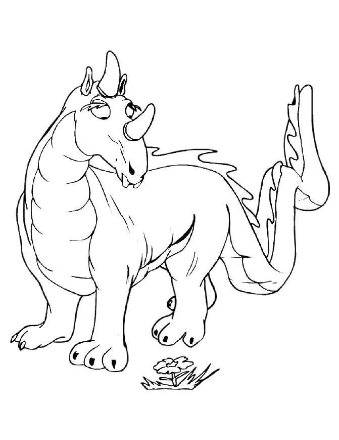 Раскраска динозавр Скачать ,барбоскины, собаки, собачки,.  Распечатать