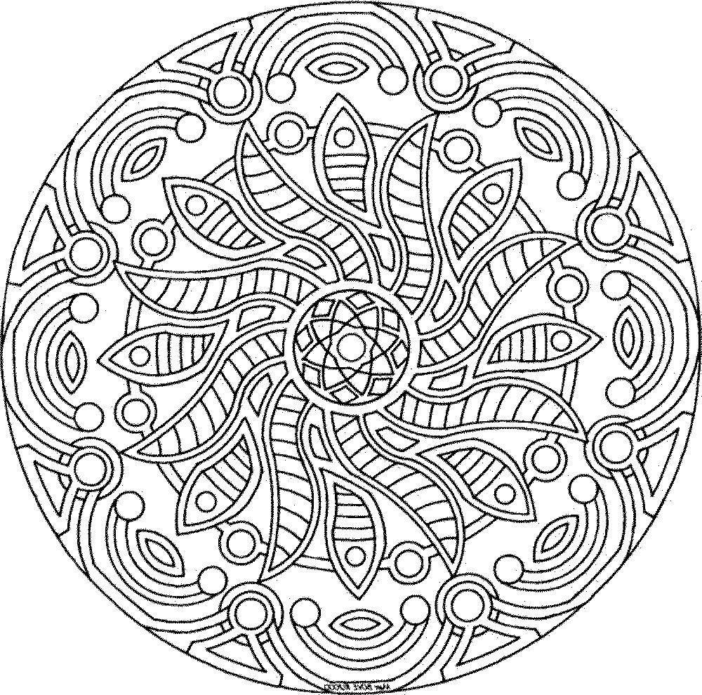 Раскраска Сложные узоры Скачать раскраски антистресс, сложные узоры.  Распечатать ,раскраски антистресс,
