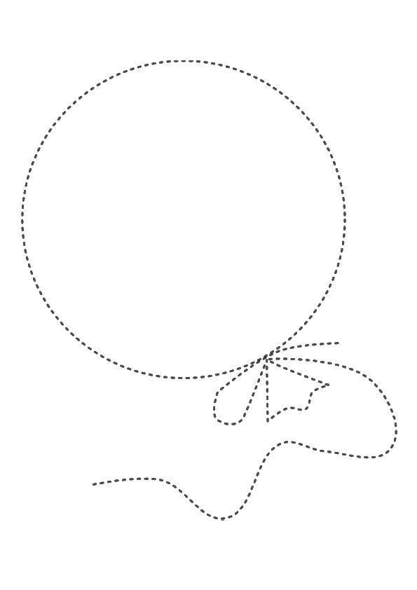 Раскраска шарики Скачать ,шарик, точки,.  Распечатать