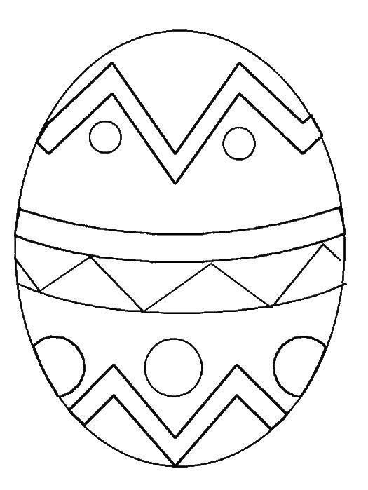 Раскраска пасхальные яйца Скачать ,гринч,.  Распечатать