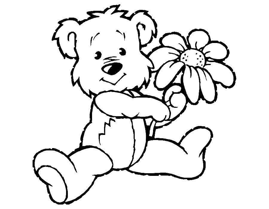 Раскраска малышам Скачать ,Персонаж из мультфильма,.  Распечатать