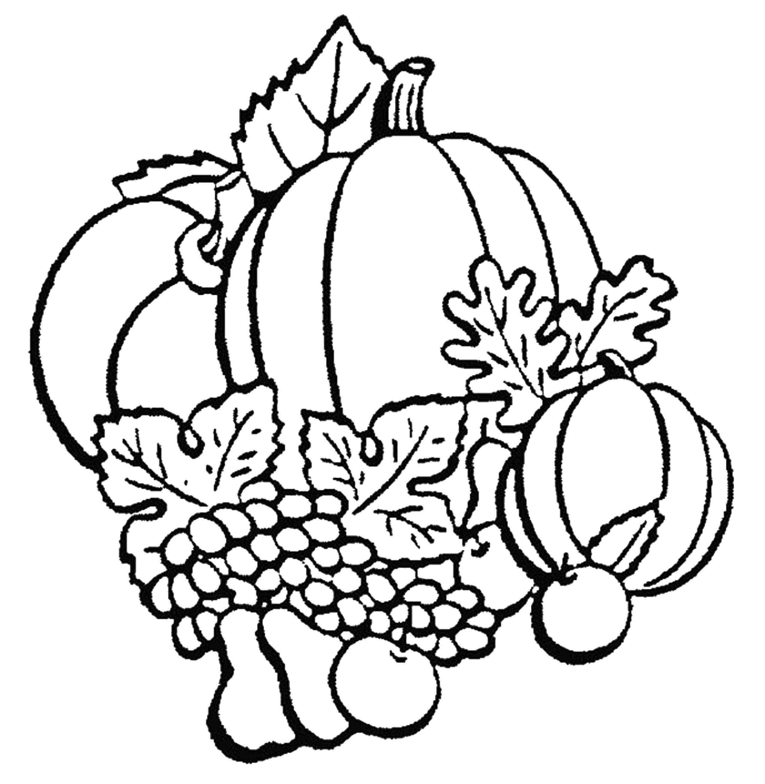 Раскраска Осень Скачать ,Цветы,.  Распечатать