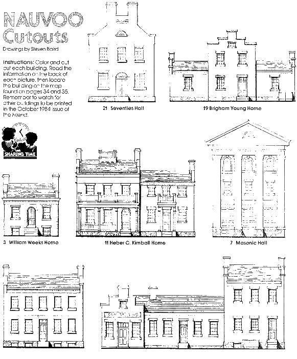Раскраска Контур старых домов Скачать дома, город.  Распечатать ,Контуры домов,