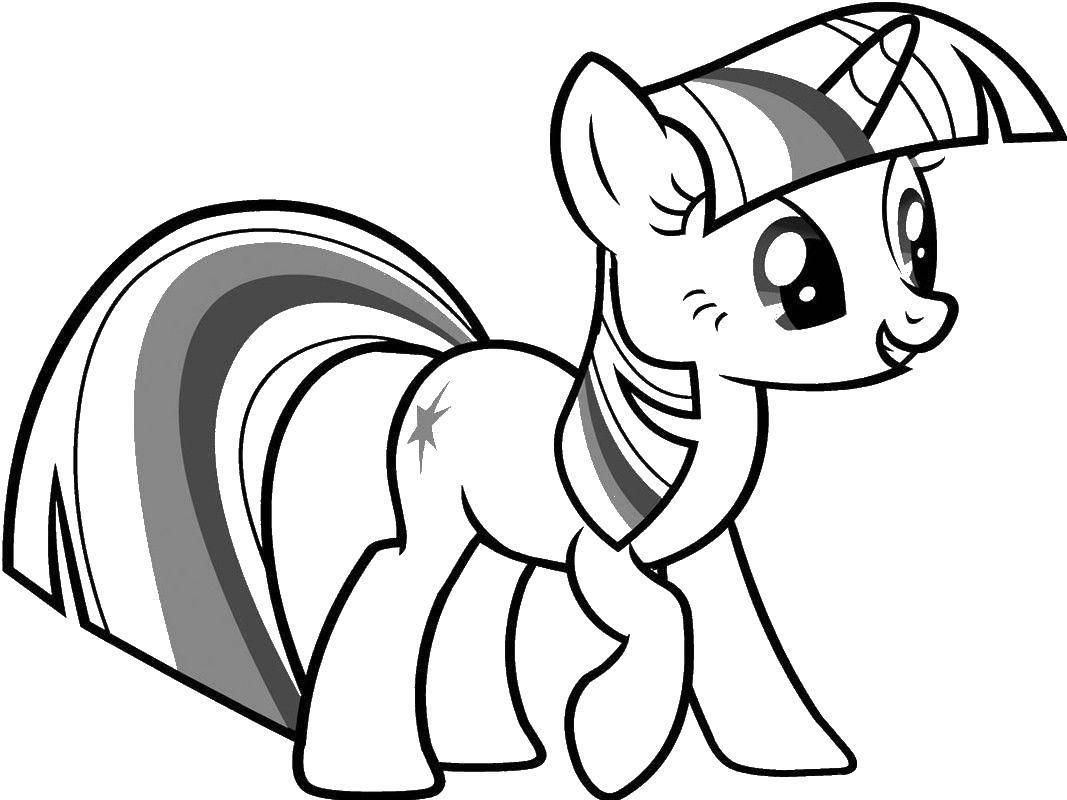 Раскраска мой маленький пони Скачать ,рождество, гринч,.  Распечатать