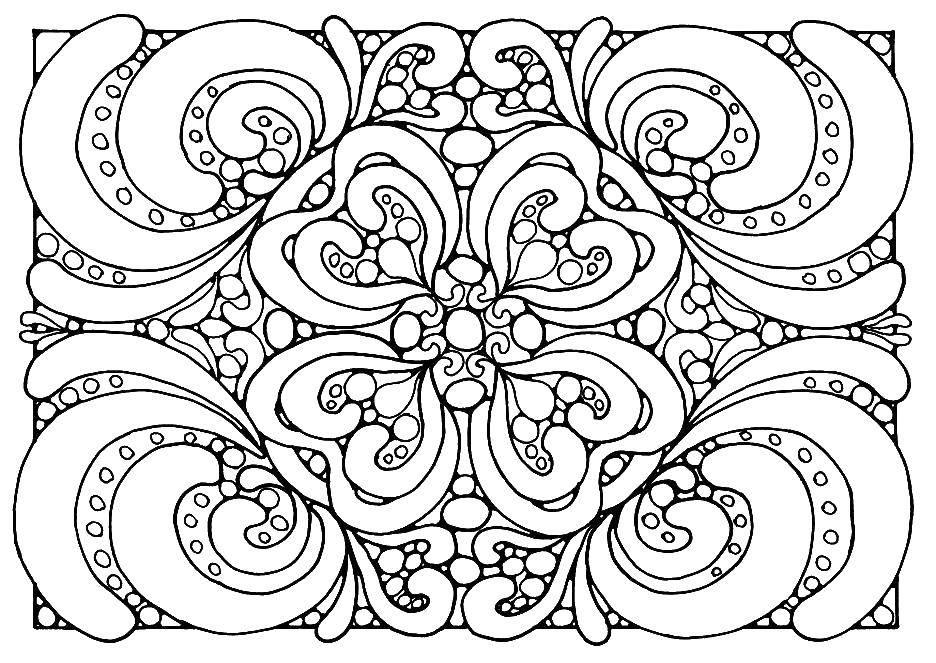 Раскраска узоры орнамент трафареты цветы Скачать рожок, тыква, кукуруза, лук.  Распечатать ,Кукуруза,