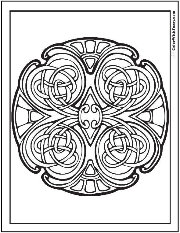Название: Раскраска Плетеные узоры. Категория: узоры. Теги: узоры, узор, плетения.