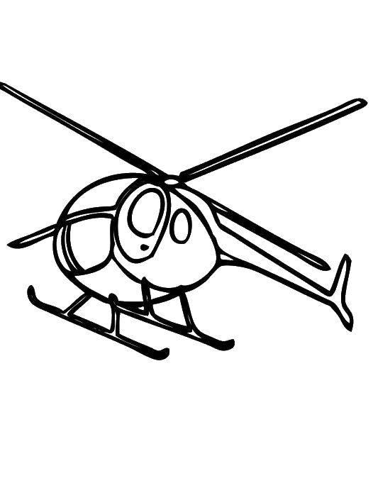 Раскраска Вертолеты Скачать ,рождество, гринч,.  Распечатать