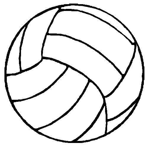 Раскраска мяч для игры в волейбол Скачать спорт, мяч.  Распечатать ,Спорт,
