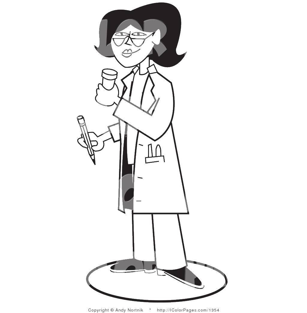 Раскраска Медицинские раскраски Скачать ,Персонаж из мультфильма, Winx,.  Распечатать