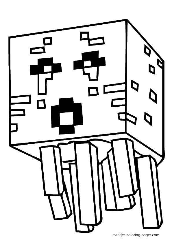Раскраска Майнкрафт игра Скачать Игры, Майнкрафт.  Распечатать ,майнкрафт,