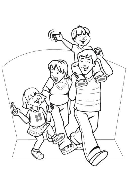 Раскраска Члены семьи Скачать Череп, узоры.  Распечатать ,Череп,