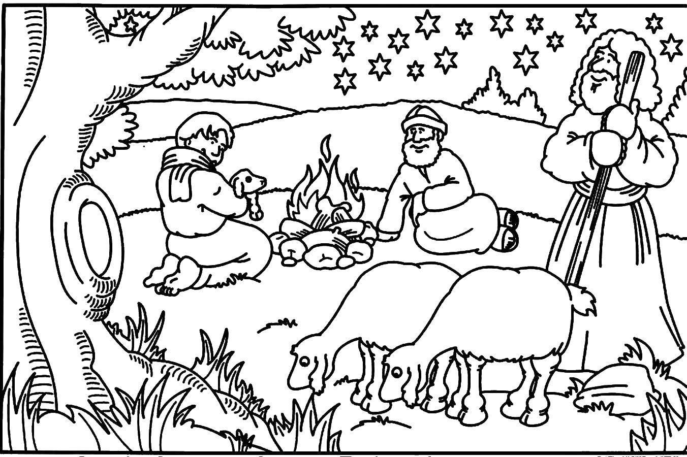 Раскраска библия Скачать шопкинс, молоко.  Распечатать ,раскраски,