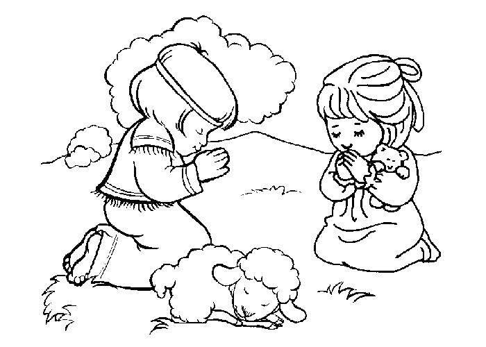 Раскраска библия Скачать Аниме.  Распечатать ,аниме,