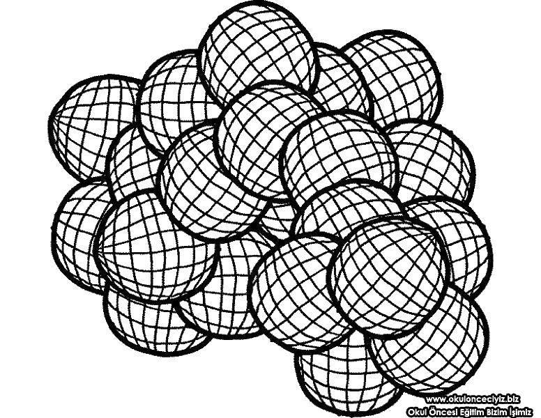 Раскраска С геометрическими фигурами Скачать ,корпорация монстров, Салли,.  Распечатать