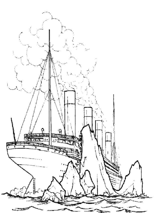 All Of The Iceberg Coloring Pages : Bulk Color | 853x640