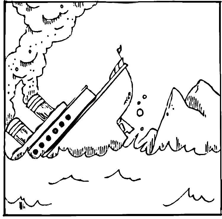 Anger Iceberg coloring page. Understand what is driving your ... | 740x750