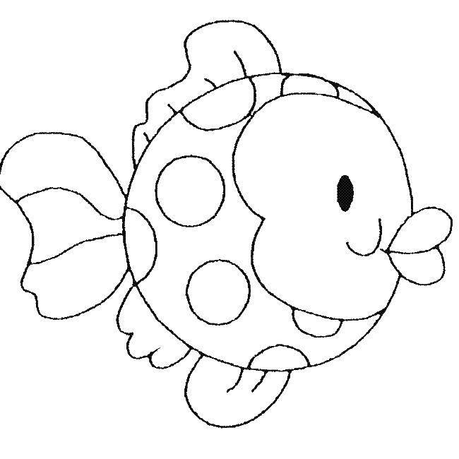 Coloring sheet fish Download ,Cartoon character,.  Print