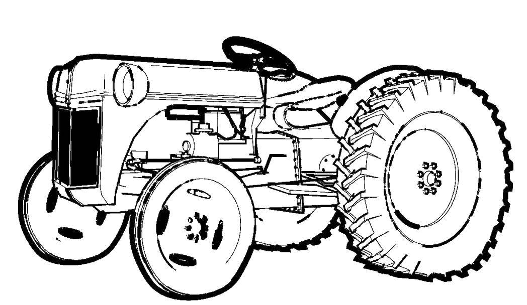 Coloring sheet transport Download .  Print