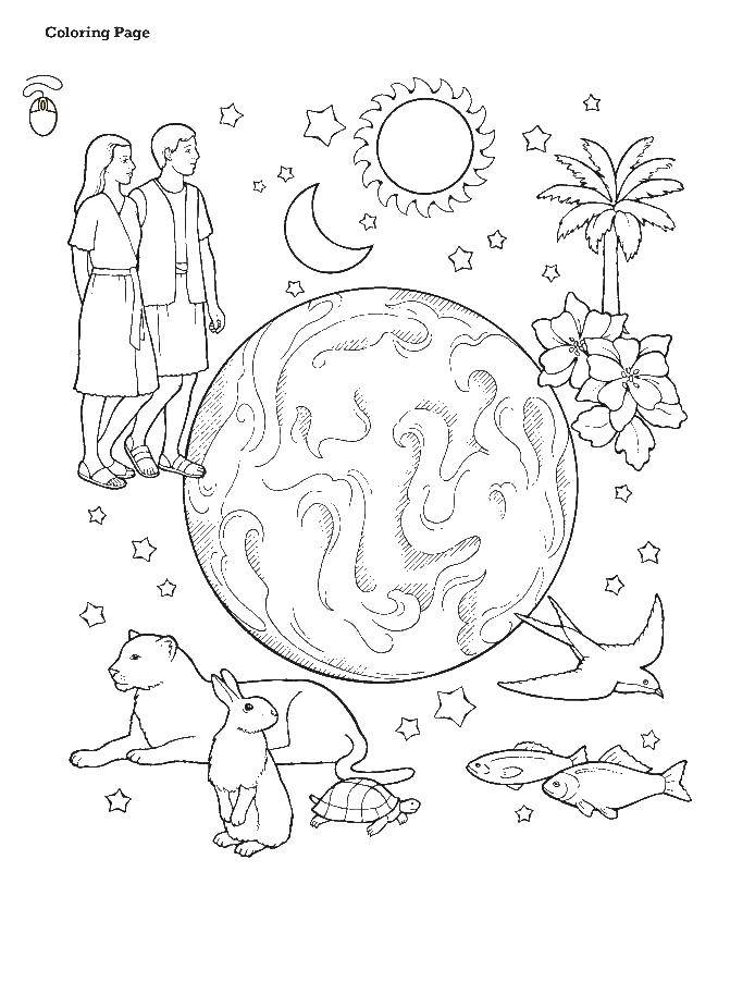 Coloring sheet the peoples of the world Download .  Print