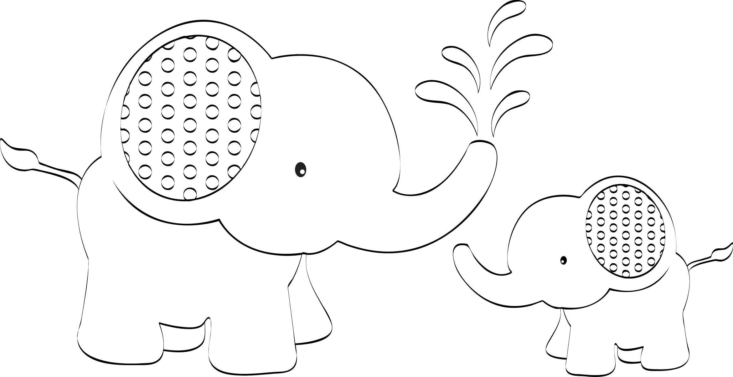 картинка слоника аппликация козули