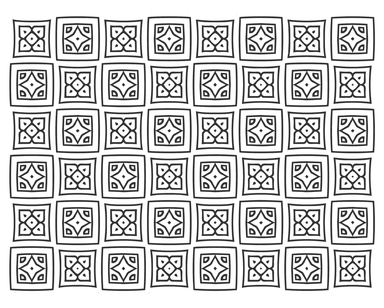 представляет картинки узоры квадратиками цветном