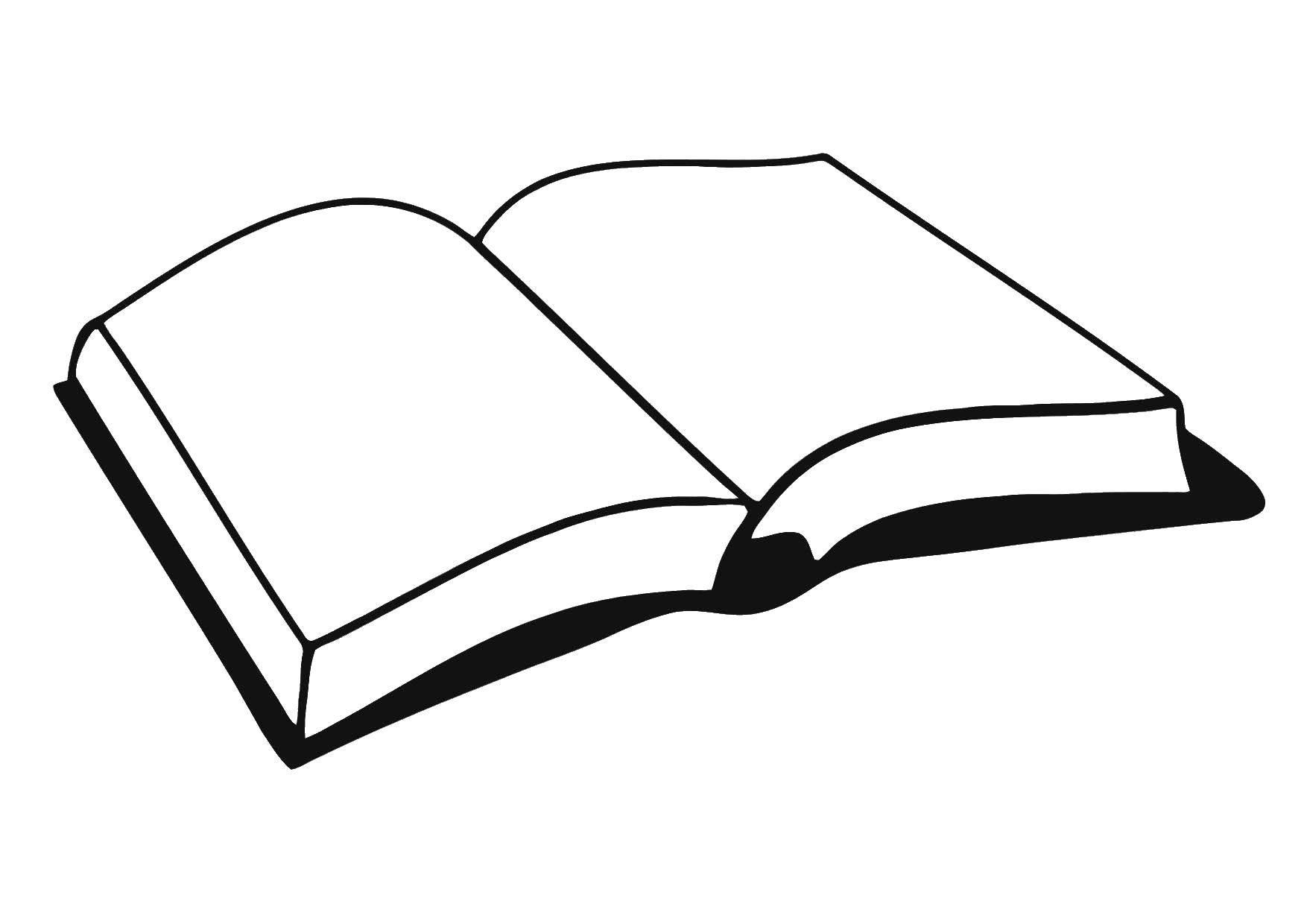 Раскраска книги Скачать ,книги, листы,.  Распечатать