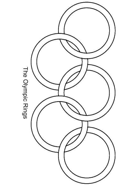 поэтому олимпийские кольца шаблон раскраска сингх популярный