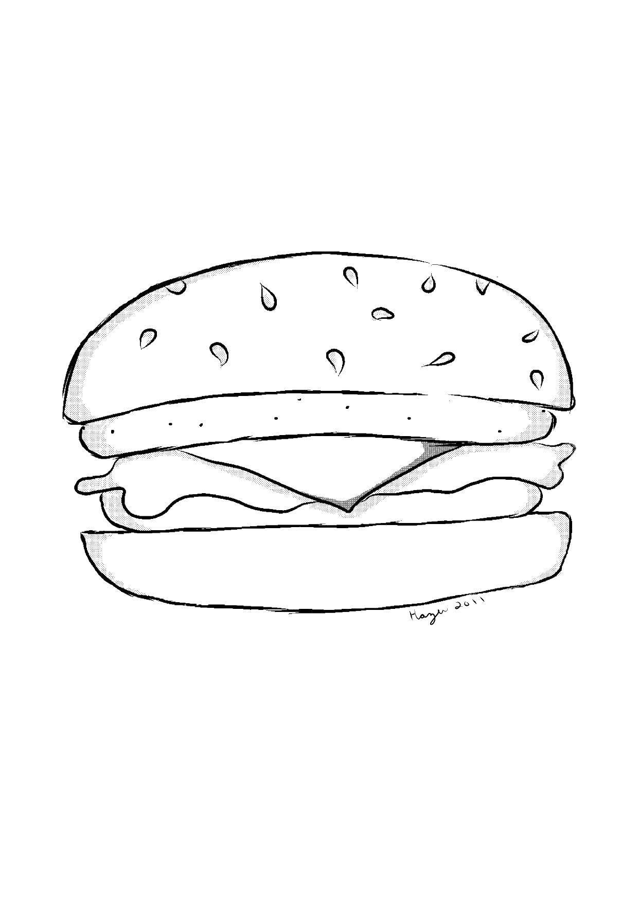 октябрьской рисунки еды карандашом художника