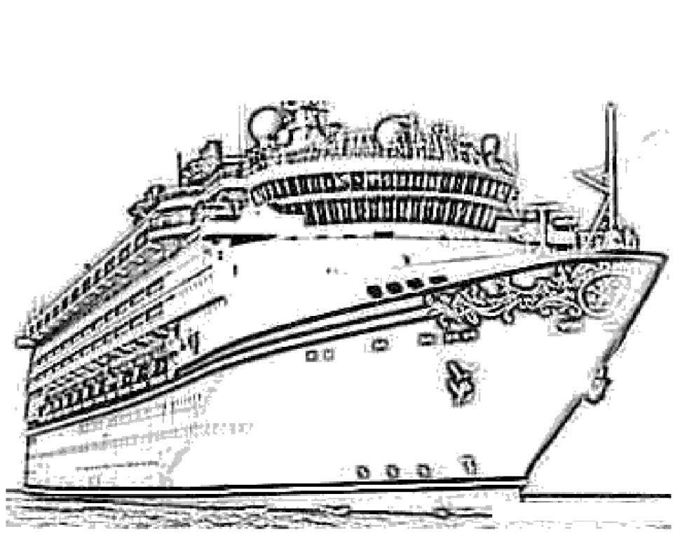 Coloring sheet Titanic Download ,cartoons, children,.  Print