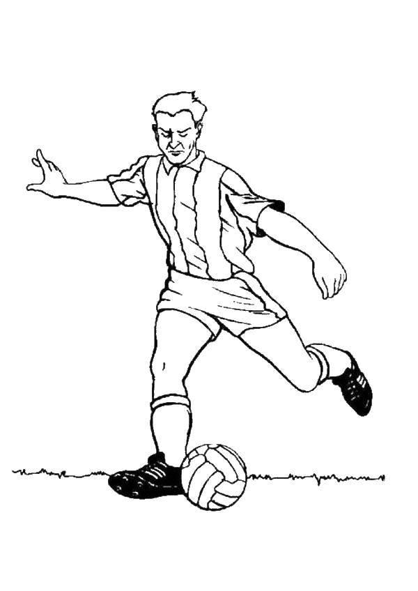 картинки с футболистами для рисунка заставить
