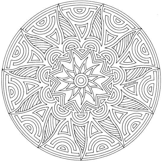 Coloring sheet With geometric shapes Download computer, speakers, keyboard.  Print ,coloring,