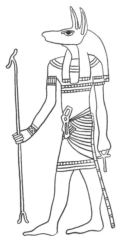 Coloring sheet Egypt Download winter, snow, dog.  Print ,winter,
