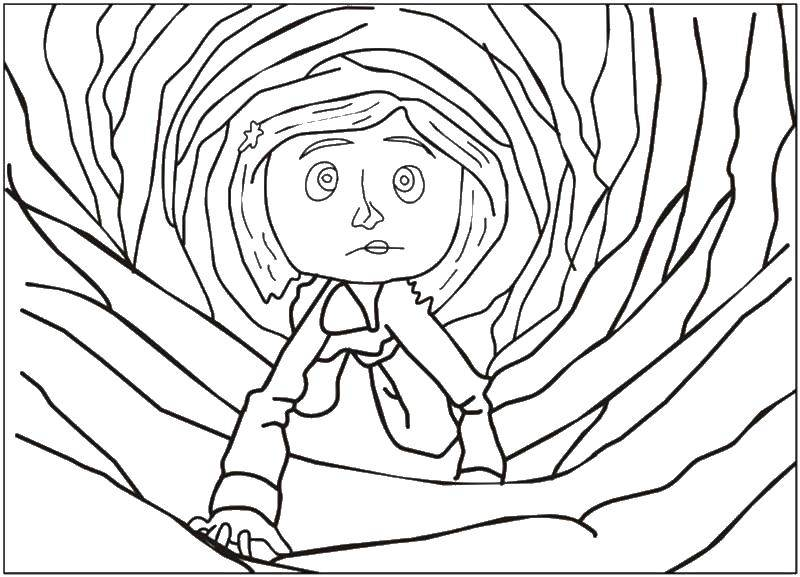 Online Coloring Pages Coloring Page Coraline Coloring Download Print Coloring Page