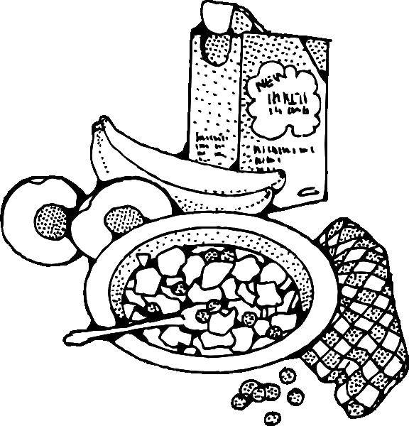 Coloring sheet Food Download .  Print