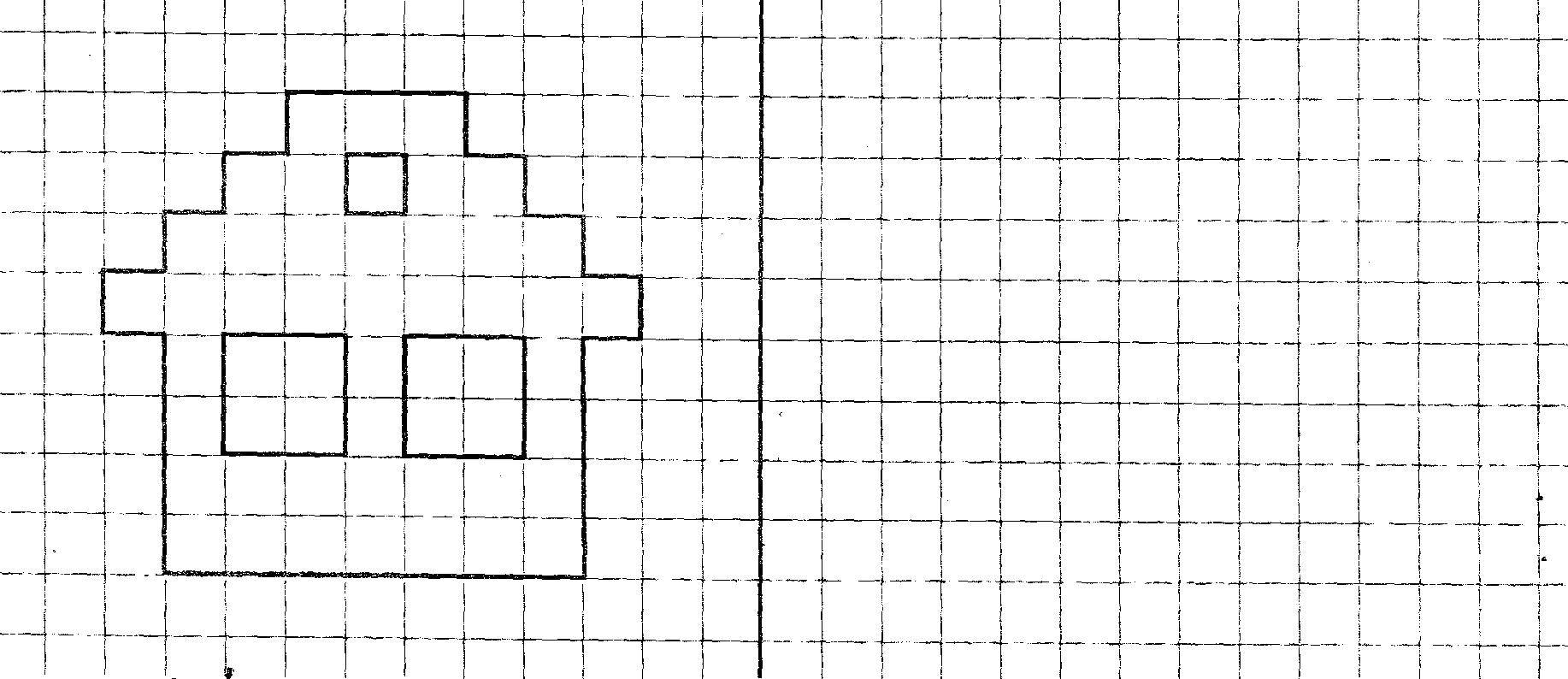 Coloring pages draw on the cells Скачать .  Распечатать