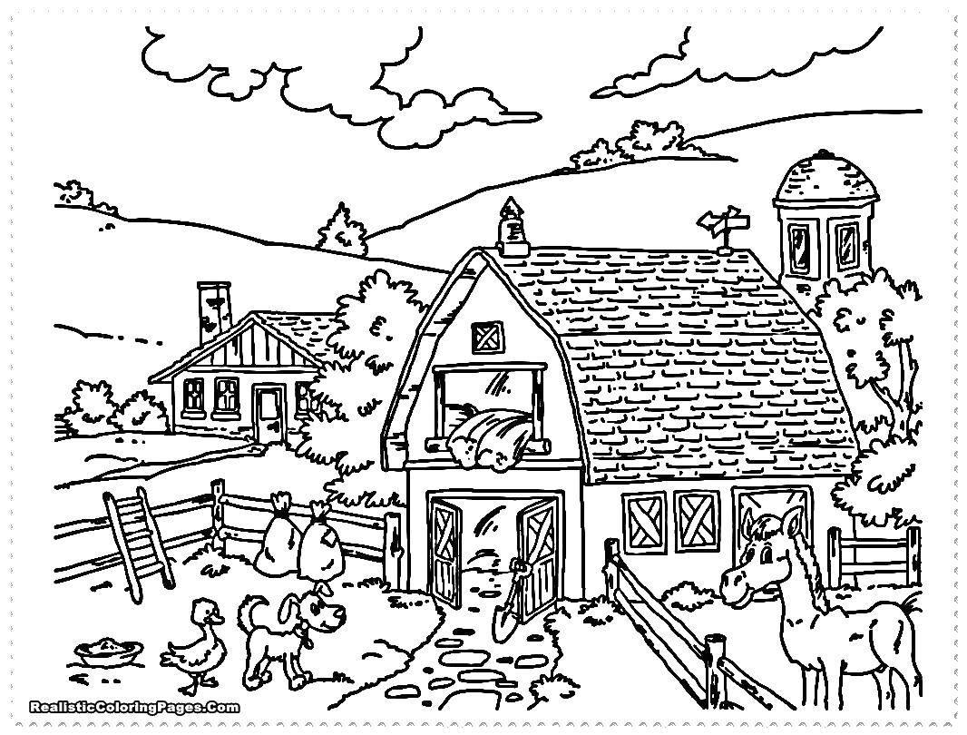 Coloring sheet farm Download ,Masquerade, mask,.  Print