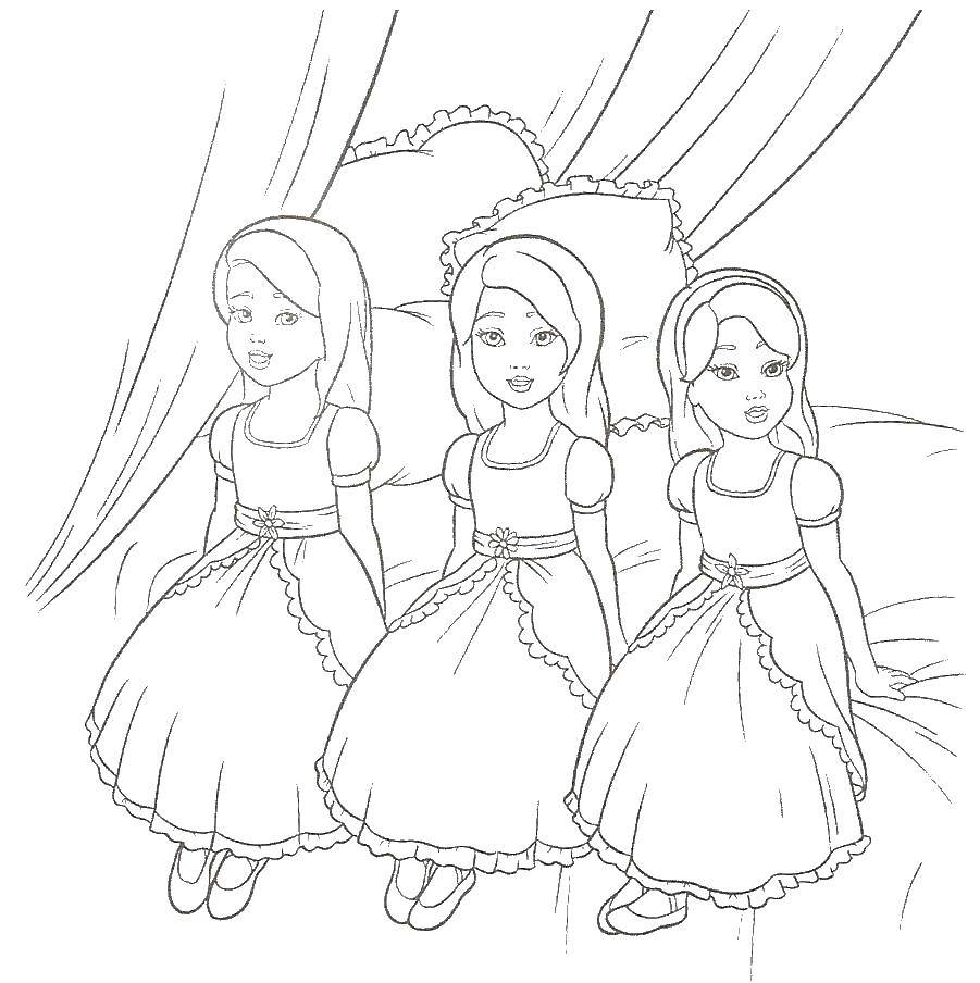 Online Coloring Pages Coloring Page Little Princess Princess Download Print Coloring Page