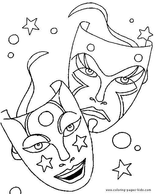 Coloring sheet Mask Download monitor, printer, speakers.  Print ,coloring,