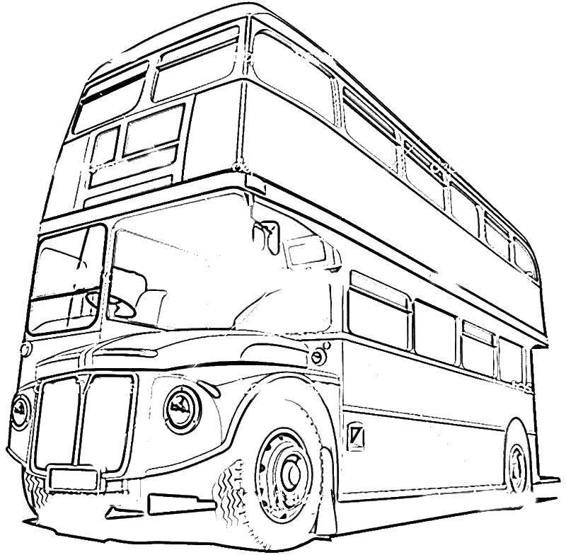 Раскраски английском, Раскраска Виды транспорта Транспорт ...