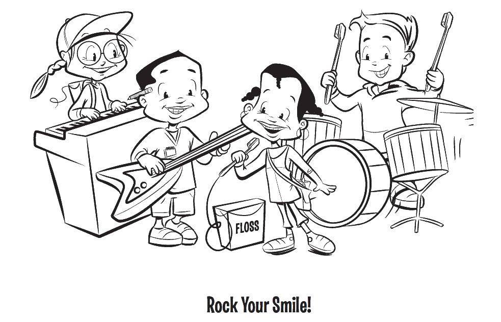 Рисунок по теме музыканты