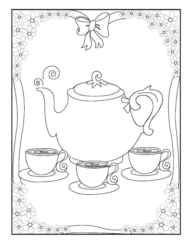 Coloring sheet dishes Download fairies Dingding, Vidia,.  Print