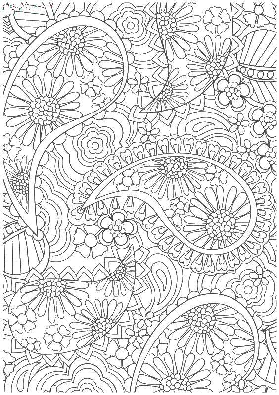 Coloring sheet coloring antistress Download .  Print