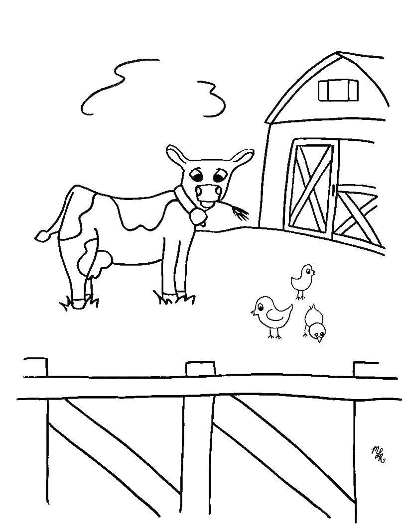 Раскраски Раскраска Хороший пёс Животные, скачать ...